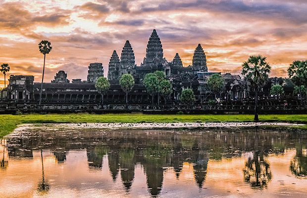 Angkor Wat Sunrise & Sunset