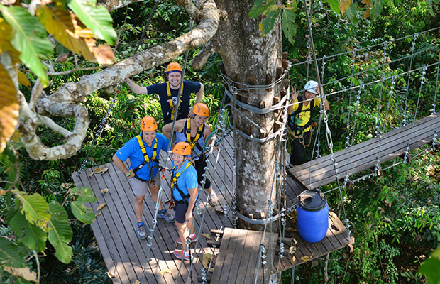 Angkor Zipline Eco-Adventure Canopy Tour
