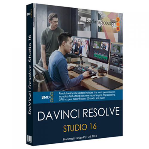 DaVinci Resolve Studio 16 Final for Windows