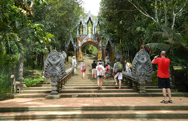 Kulen Waterfall Mountain & Beng Mealea Temple Tour