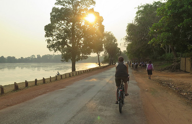 Angkor Beautiful Sunrise Bike Tour