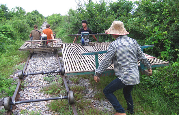 Battambang City Tour & Bamboo Train