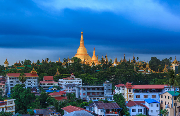 Explore Angkor Wat and Yangon Tour City Tour