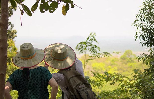 Explore Cycling and Kulen Mountain Trekking Tour in Siem Reap