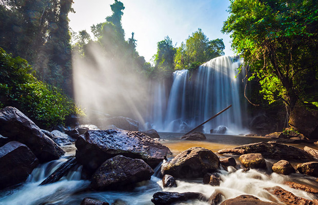 Phnom Kulen Waterfall Tour