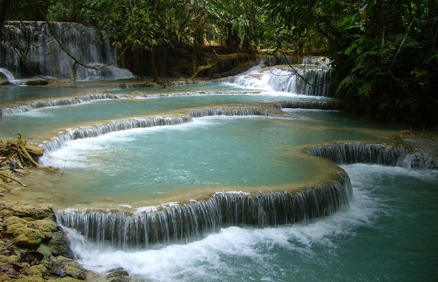Waterfall of Cham Pey